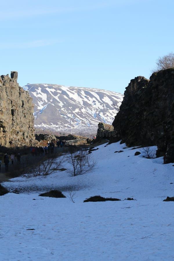 La bellezza naturale dell'Islanda immagine stock