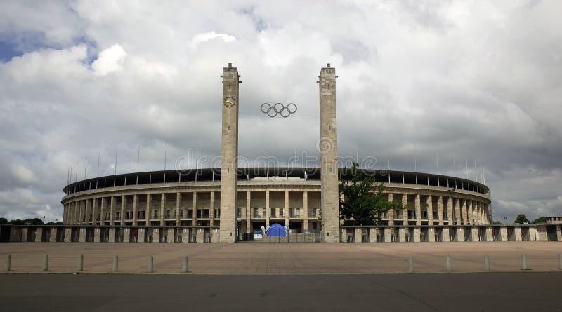 La Berlín Olympiastadion fotografía de archivo libre de regalías