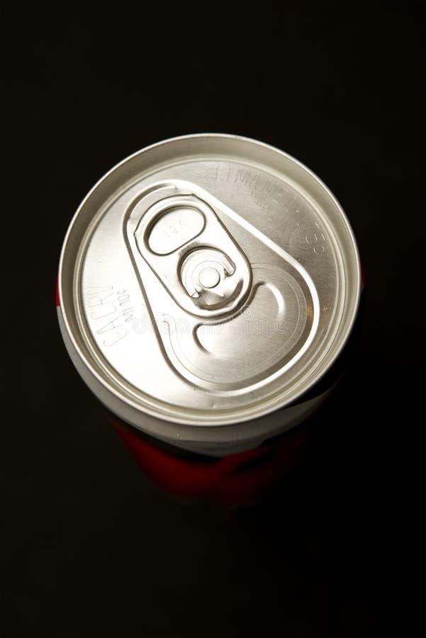La bevanda di energia può immagine stock libera da diritti