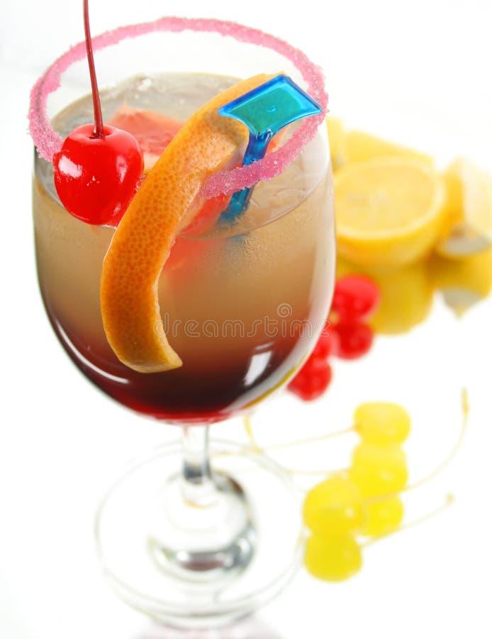 La bevanda ha decorato i frutti differenti fotografia stock libera da diritti