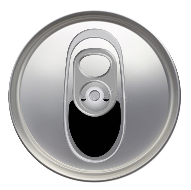La bevanda può illustrazione vettoriale