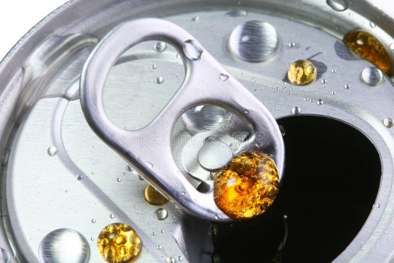 La bibita analcolica di alluminio può fotografie stock libere da diritti