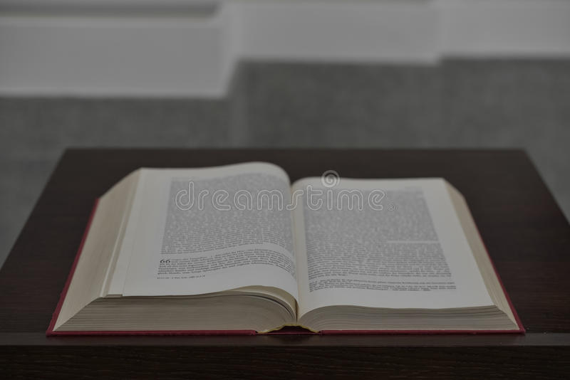 La bible photographie stock