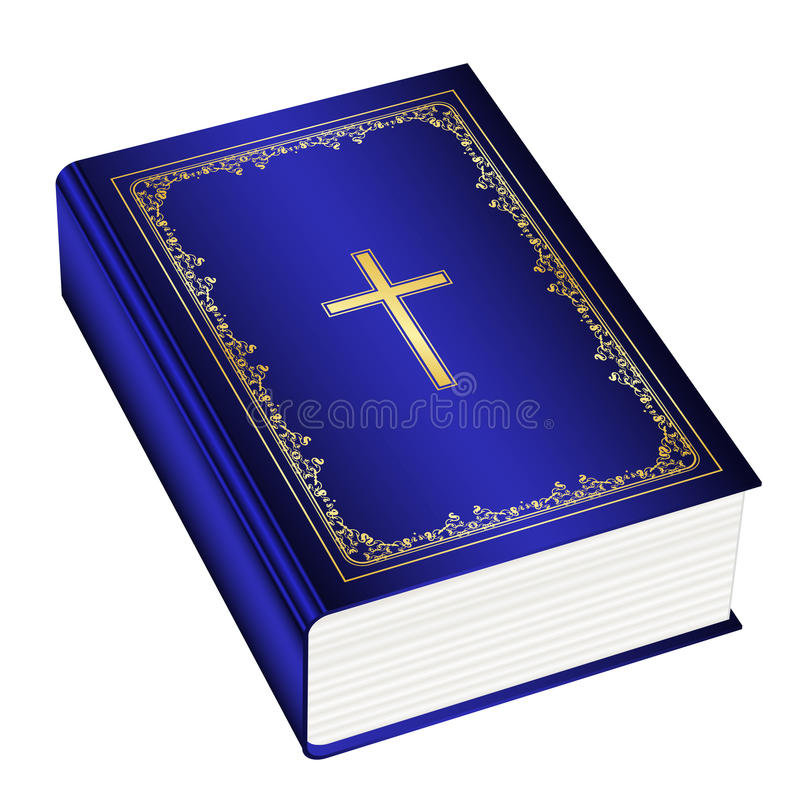 La bible de houx illustration de vecteur