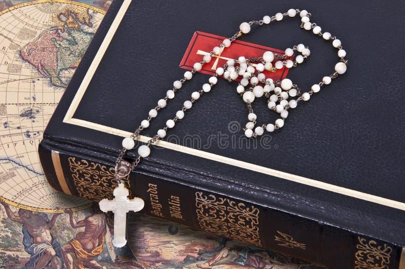 La biblia santa fotografía de archivo libre de regalías