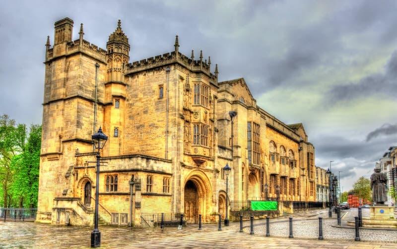La biblioteca centrale, un monumento storico in Bristol fotografie stock