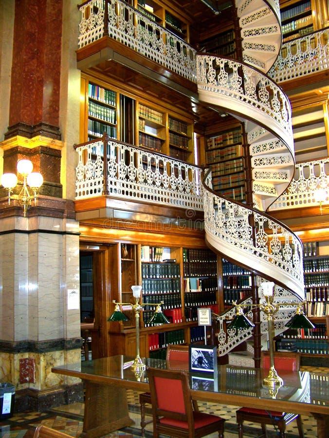 La biblioteca del capitolio imagenes de archivo