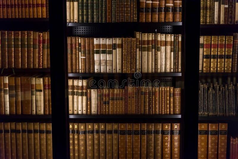La bibliothèque britannique - intérieur photo stock