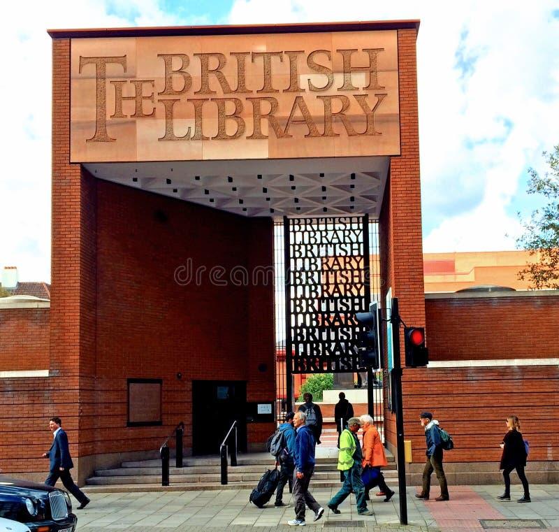 La bibliothèque britannique Londres photo stock