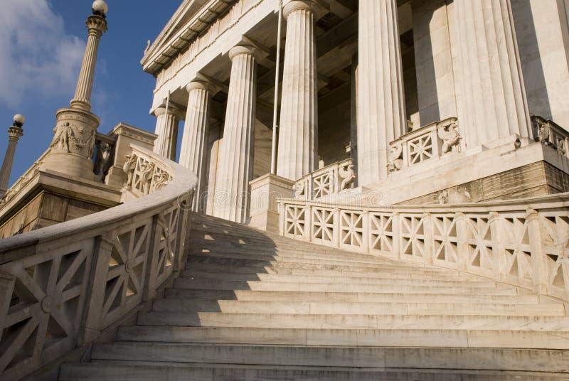 La bibliothèque de l'Athene photo libre de droits