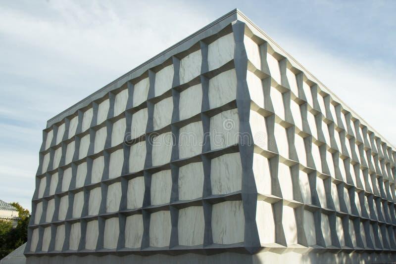 La bibliothèque de livre rare et de manuscrit de Beinecke image stock