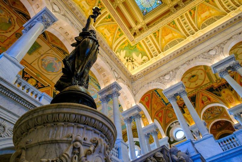 La Bibliothèque du Congrès à Washington D C images stock