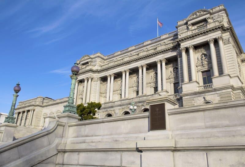 La Bibliothèque du Congrès images stock
