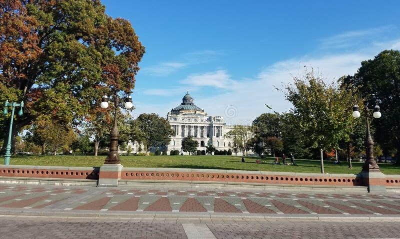 La Bibliothèque du Congrès le bâtiment image libre de droits