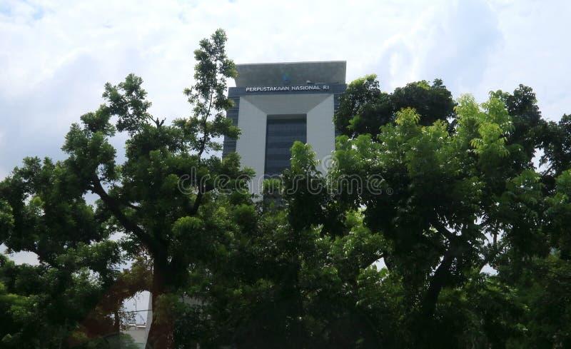 La Bibliothèque nationale de l'Indonésie photo stock