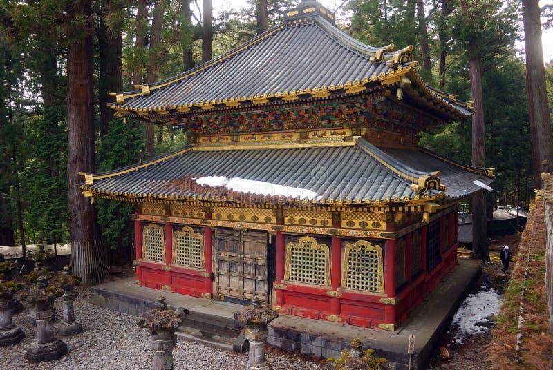 La bibliothèque sainte de Sutra, Nikko, Japon photos libres de droits