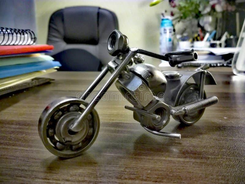 La bici elimina el núcleo en mi oficina imágenes de archivo libres de regalías