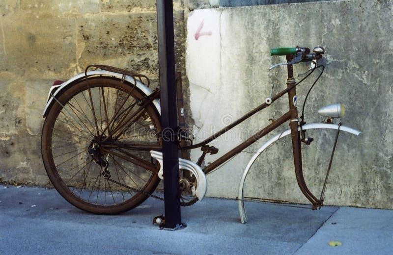 La bici triste immagini stock