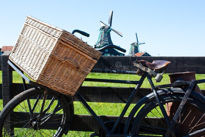 La bicyclette en Hollande image stock