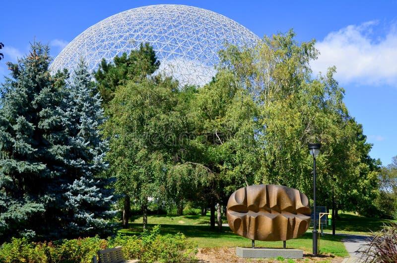 La biosfera fotografia stock