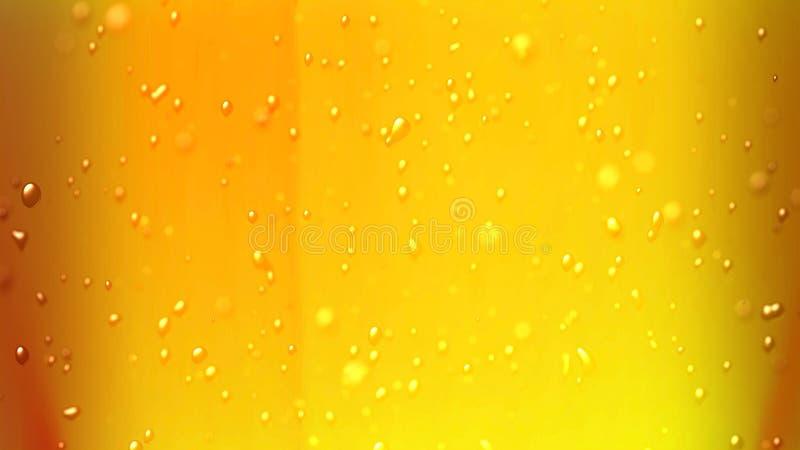 La birra bolle aria in su fotografie stock libere da diritti