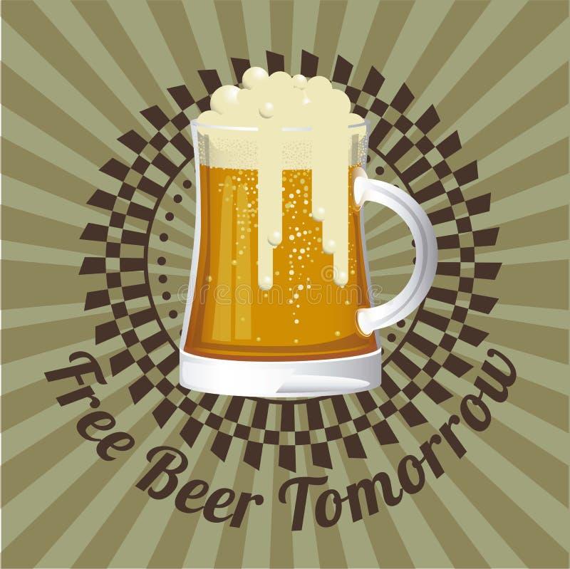 Download La Birra Libera L'etichetta Illustrazione Vettoriale - Illustrazione di bevanda, libero: 30827865