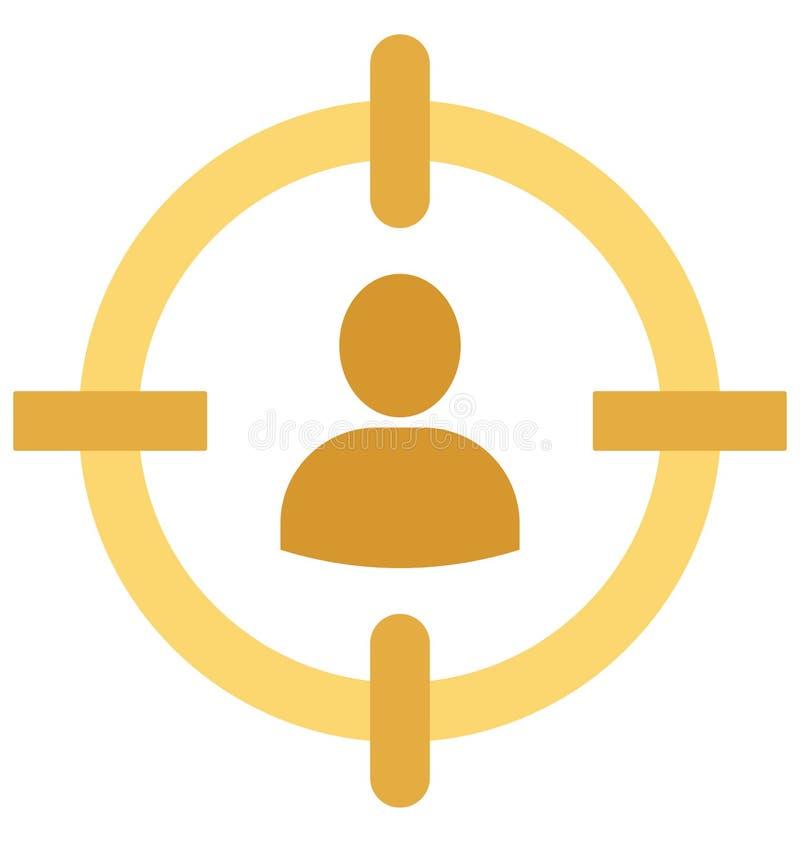 La blanco del usuario aisló el icono del vector que puede estar fácilmente corrige o se modificó libre illustration