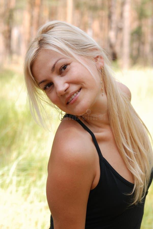 La blonde de fille images libres de droits