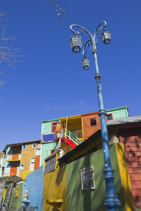 La Boca,布宜诺斯艾利斯,阿根廷 库存图片