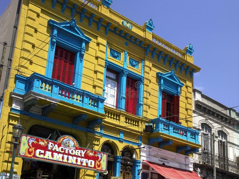 La Boca -布宜诺斯艾利斯-阿根廷-南美 免版税图库摄影