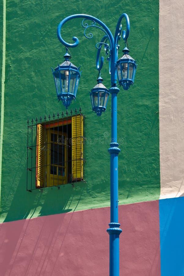 La Boca. Colorful detail in the neighbourhoud of La Boca, Bueonos Aires, Argentina stock photos