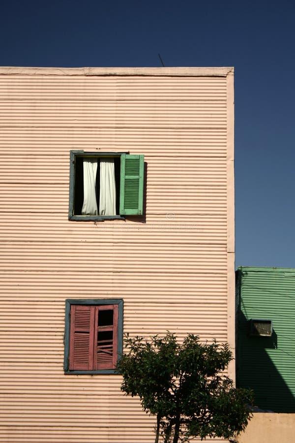 La Boca, Buenos Aires. Building in La Boca, Buenos Aires royalty free stock images