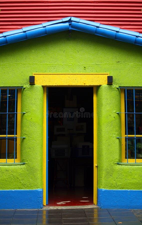 La Boca a Buenos Aires fotografia stock libera da diritti