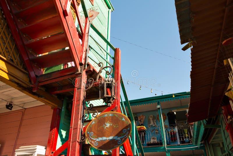 La Boca, Buenos Aires Argentina. Colorful neighborhood La Boca, Buenos Aires Argentina stock image