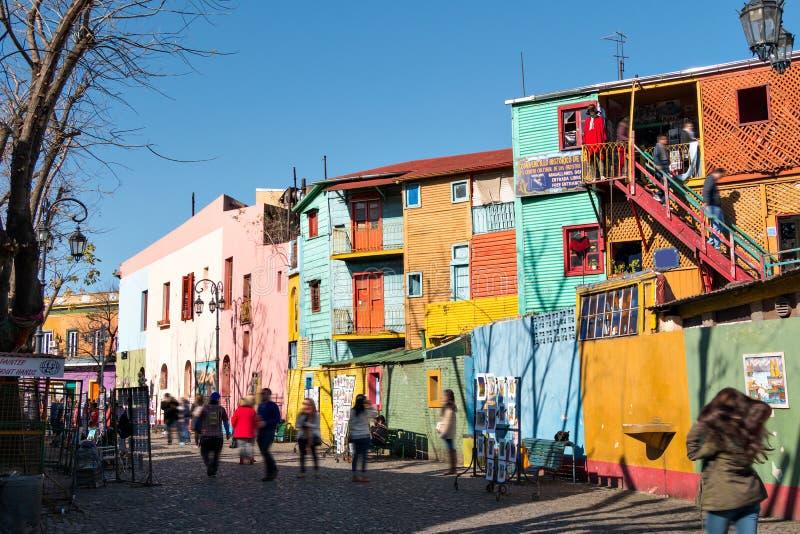 La Boca, Buenos Aires Argentina. Colorful neighborhood La Boca, Buenos Aires Argentina stock photos