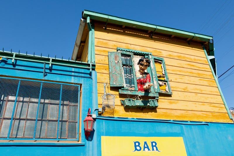 La Boca, Buenos Aires Argentina. Colorful neighborhood La Boca, Buenos Aires Argentina royalty free stock images