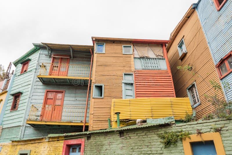 La Boca in Buenos Aires, Argentina. La Boca neighbourhood in Buenos Aires, Argentina stock photography