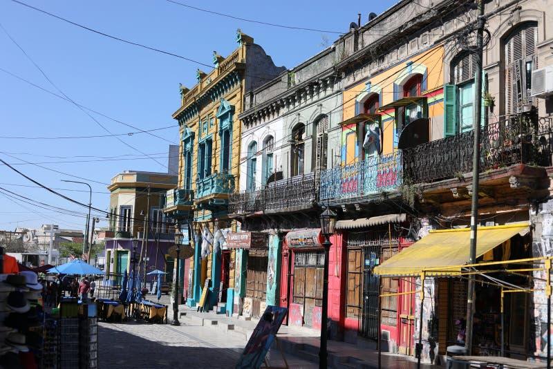 La Boca Buenos Aires de Caminito foto de archivo libre de regalías