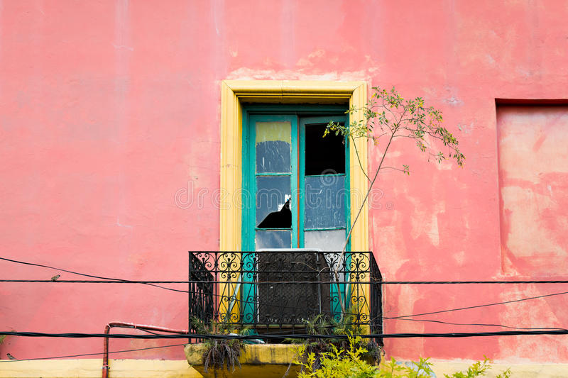 La Boca, colorful neighborhood, Buenos Aires Argentine stock photography