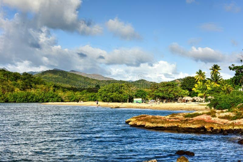 La Boca, Cuba. La Boca resort area in the in the Sanctus Spiritus Region of Cuba stock photography