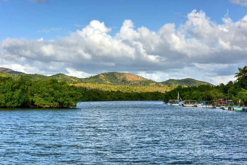 La Boca, Cuba. La Boca resort area in the in the Sanctus Spiritus Region of Cuba royalty free stock photography