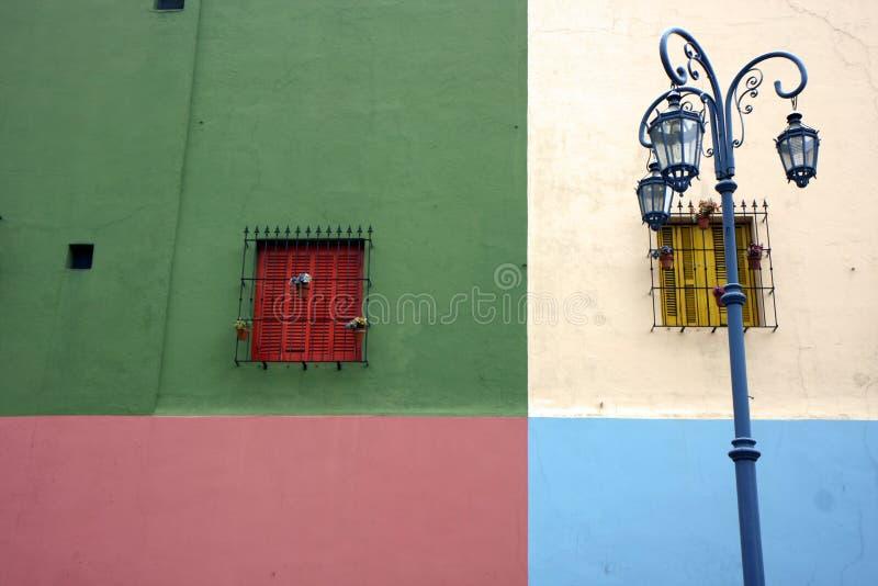 La Boca en Buenos Aires, la Argentina foto de archivo libre de regalías