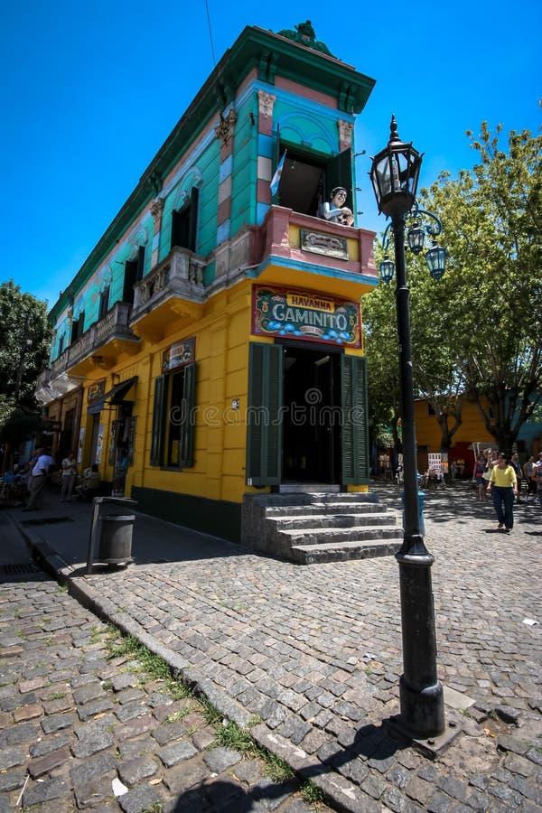 La Boca. Neighborhood in Buenos Aires, Argentina stock photo