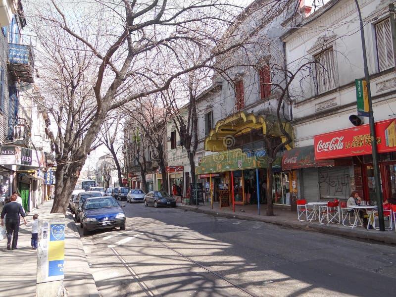 La Boca Neighborhood, Buens Aires fotografía de archivo
