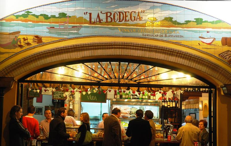 Download La Bodega editorial photography. Image of customs, spain - 18347387