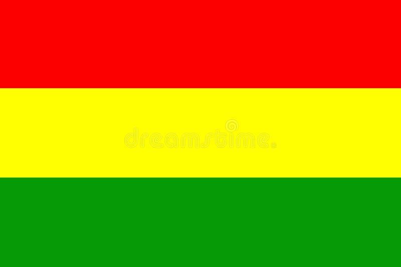 La Bolivia royalty illustrazione gratis