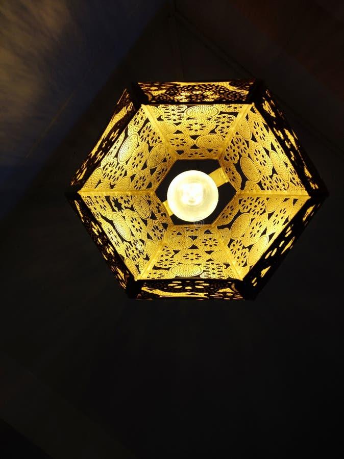 La bombilla de Lamp fotos de archivo libres de regalías