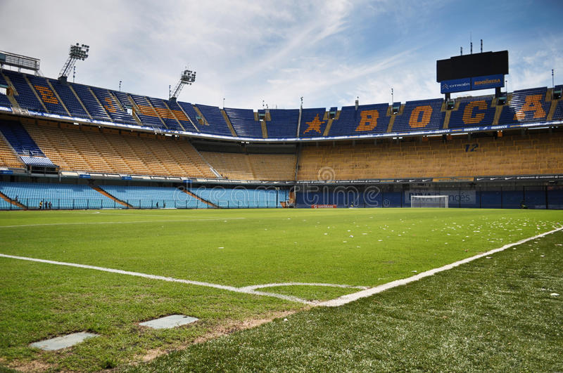 La Bombonera, Boca Juniors Stadium, Buenos Aires, Argentina royalty free stock photos