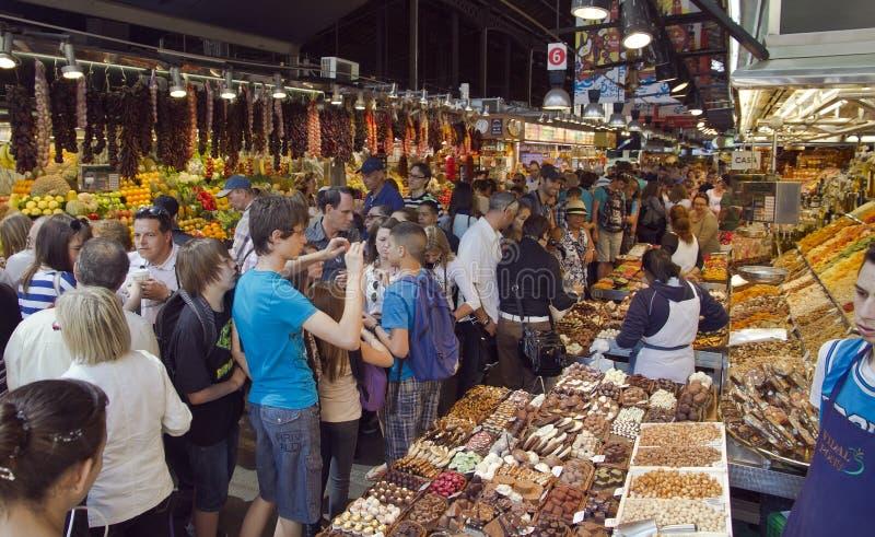 Download La Boqueria market editorial photography. Image of barcelona - 20964547