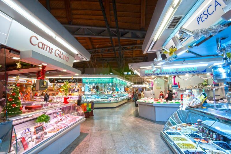 La Boqueria market, Barcelona, Spain.
